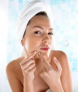 Лечение прыщей на щеках